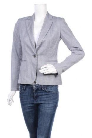 Дамско сако Zara, Размер S, Цвят Син, 66% полиестер, 32% вискоза, 2% еластан, Цена 37,80лв.