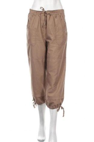 Дамски панталон Ze-Ze, Размер M, Цвят Кафяв, Полиестер, Цена 6,04лв.