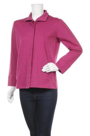 Дамско яке, Размер M, Цвят Розов, 85% полиестер, 10% памук, 5% еластан, Цена 5,89лв.