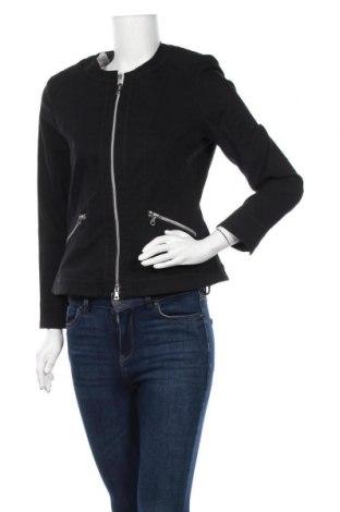 Дамско яке, Размер M, Цвят Черен, 67% памук, 28% полиамид, 5% еластан, Цена 9,45лв.