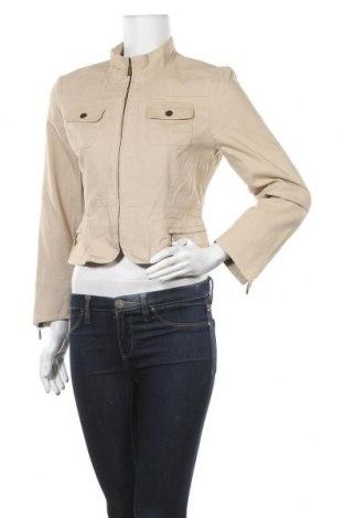 Дамско яке A Line, Размер M, Цвят Бежов, 99% памук, 1% еластан, Цена 16,42лв.