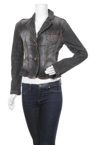 Дамско яке Esprit, Размер S, Цвят Сив, 99% памук, 1% еластан, Цена 6,51лв.