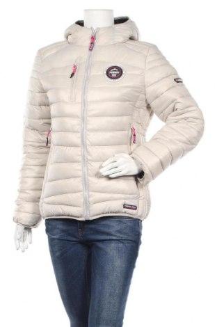 Дамско яке Geographical Norway, Размер M, Цвят Екрю, Полиамид, Цена 181,30лв.
