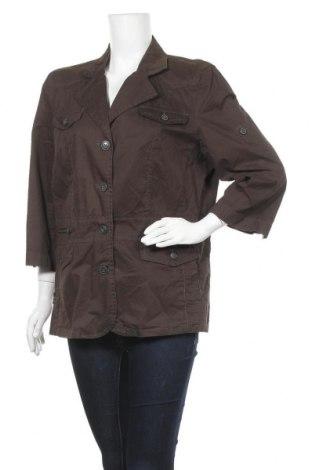 Дамско яке Gina Laura, Размер XL, Цвят Зелен, Памук, Цена 5,08лв.