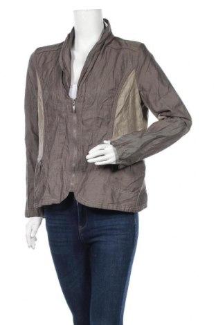 Дамско яке Gina Laura, Размер L, Цвят Сив, 51% памук, 43% полиамид, 6% метални нишки, Цена 8,93лв.