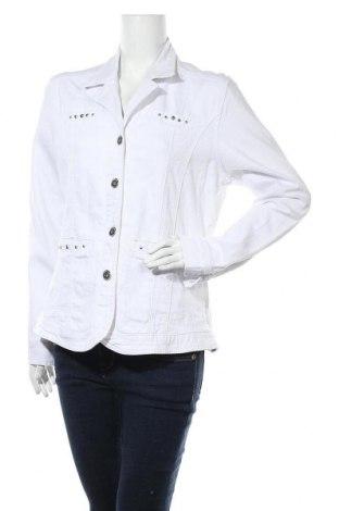 Дамско яке Gina Laura, Размер L, Цвят Бял, Цена 35,91лв.