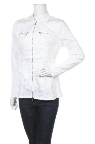 Дамско яке Mandarin, Размер M, Цвят Бял, Цена 7,64лв.