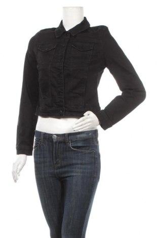 Γυναικείο μπουφάν Mohito, Μέγεθος S, Χρώμα Μαύρο, 98% βαμβάκι, 2% ελαστάνη, Τιμή 15,21€