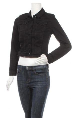 Γυναικείο μπουφάν Mohito, Μέγεθος S, Χρώμα Μαύρο, 98% βαμβάκι, 2% ελαστάνη, Τιμή 14,44€