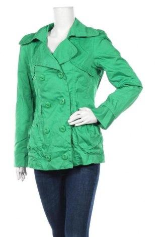 Дамски шлифер Vero Moda, Размер L, Цвят Зелен, 65% полиестер, 35% памук, Цена 31,61лв.