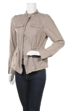 Дамско яке Yessica, Размер M, Цвят Бежов, 56% лен, 44% памук, Цена 39,69лв.