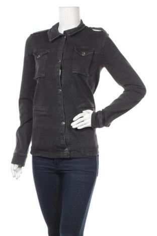 Дамско яке Zibi London, Размер M, Цвят Сив, 100% памук, Цена 20,72лв.