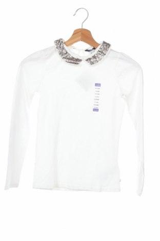 Παιδική μπλούζα Okaidi, Μέγεθος 9-10y/ 140-146 εκ., Χρώμα Λευκό, 95% βαμβάκι, 5% ελαστάνη, Τιμή 11,34€