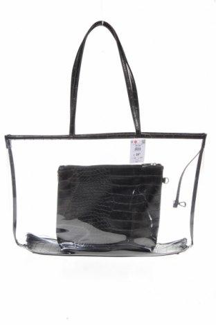 Детска чанта Reserved, Цвят Черен, Полиуретан, Цена 21,07лв.