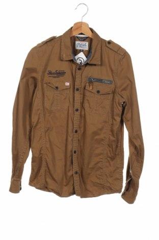Παιδικό πουκάμισο Petrol Industries, Μέγεθος 15-18y/ 170-176 εκ., Χρώμα Καφέ, Τιμή 4,09€