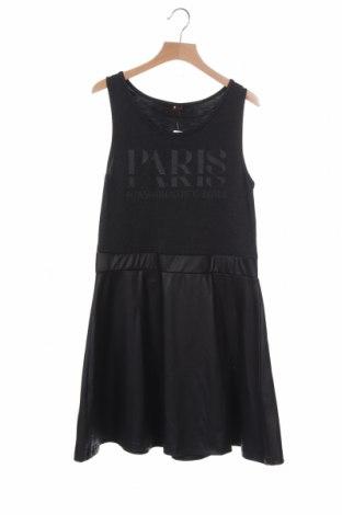 Παιδικό φόρεμα, Μέγεθος 15-18y/ 170-176 εκ., Χρώμα Μαύρο, 98% πολυεστέρας, 2% ελαστάνη, Τιμή 8,77€