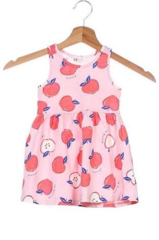 Dětské šaty  H&M, Velikost 18-24m/ 86-98 cm, Barva Vícebarevné, Bavlna, Cena  178,00Kč