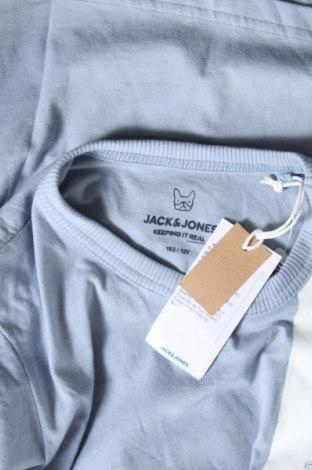 Παιδικό μπλουζάκι Jack & Jones, Μέγεθος 11-12y/ 152-158 εκ., Χρώμα Μπλέ, 68% βαμβάκι, 32% πολυεστέρας, Τιμή 10,52€
