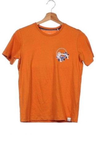 Παιδικό μπλουζάκι Jack & Jones, Μέγεθος 11-12y/ 152-158 εκ., Χρώμα Πορτοκαλί, Βαμβάκι, Τιμή 9,64€