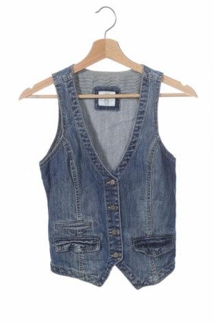 Dětská vesta  H&M L.O.G.G., Velikost 2-3y/ 98-104 cm, Barva Modrá, 99% bavlna, 1% elastan, Cena  43,00Kč