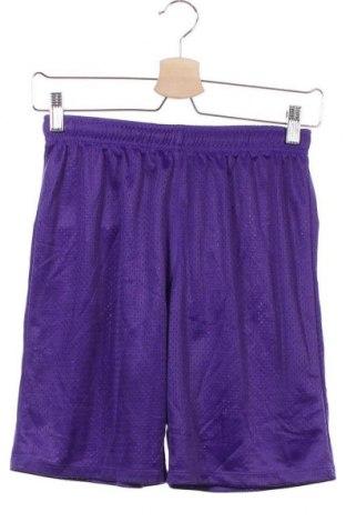 Παιδικό κοντό παντελόνι, Μέγεθος 14-15y/ 168-170 εκ., Χρώμα Βιολετί, Πολυεστέρας, Τιμή 3,41€