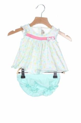 Детски комплект Grain De Ble, Размер 1-2m/ 50-56 см, Цвят Многоцветен, 93% памук, 7% еластан, Цена 30,80лв.