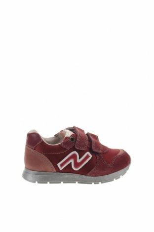 Παιδικά παπούτσια Naturino, Μέγεθος 23, Χρώμα Κόκκινο, Κλωστοϋφαντουργικά προϊόντα, φυσικό σουέτ, Τιμή 20,63€