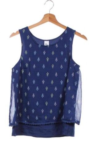 Μπλουζάκι αμάνικο παιδικό Here+There, Μέγεθος 15-18y/ 170-176 εκ., Χρώμα Μπλέ, Πολυεστέρας, Τιμή 2,60€