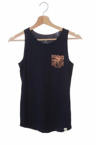 Μπλουζάκι αμάνικο παιδικό Jack & Jones, Μέγεθος 11-12y/ 152-158 εκ., Χρώμα Μπλέ, Τιμή 7,92€