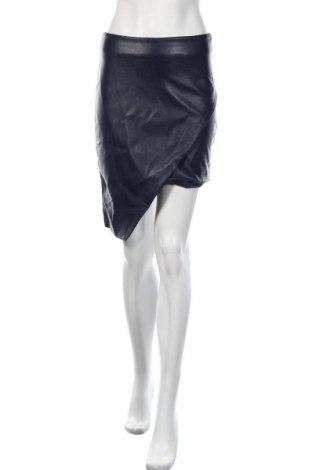 Δερμάτινη φούστα Mohito, Μέγεθος S, Χρώμα Μπλέ, Δερματίνη, Τιμή 12,63€