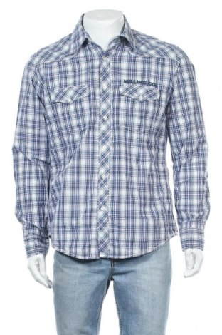Мъжка риза H&M L.O.G.G., Размер L, Цвят Многоцветен, Памук, Цена 8,10лв.