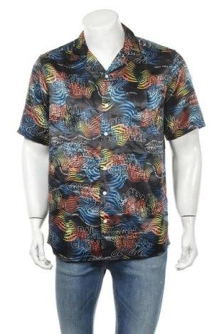 Ανδρικό πουκάμισο Only & Sons, Μέγεθος L, Χρώμα Πολύχρωμο, Πολυεστέρας, Τιμή 10,86€