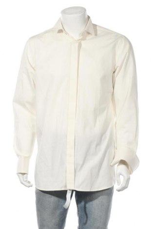 Pánská košile  Wolczanka, Velikost M, Barva Krémová, 100% bavlna, Cena  187,00Kč
