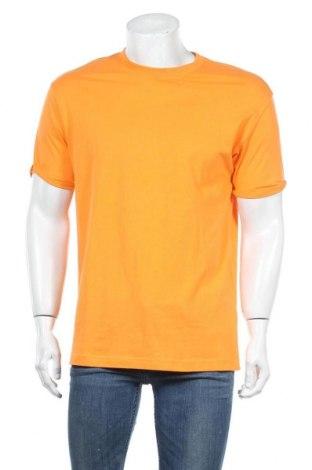 Ανδρικό t-shirt Bershka, Μέγεθος M, Χρώμα Πορτοκαλί, Τιμή 12,06€