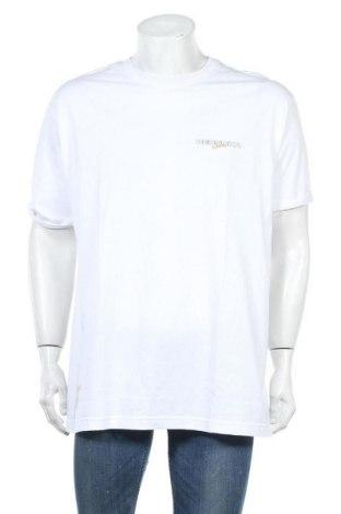 Ανδρικό t-shirt Bershka, Μέγεθος XL, Χρώμα Λευκό, Τιμή 12,99€