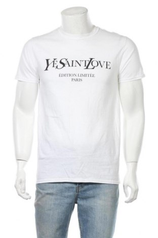 Ανδρικό t-shirt Stylewise, Μέγεθος S, Χρώμα Λευκό, Βαμβάκι, Τιμή 6,60€