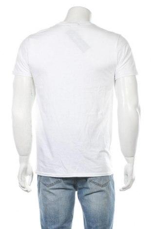 Мъжка тениска Stylewise, Размер S, Цвят Бял, Памук, Цена 14,40лв.