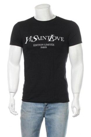 Мъжка тениска Stylewise, Размер S, Цвят Черен, Памук, Цена 24,00лв.