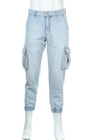 Pánské džíny  Bershka, Velikost M, Barva Modrá, Bavlna, Cena  324,00Kč