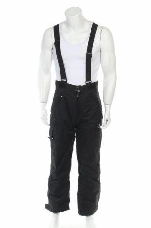 Мъжки панталон за зимни спортове Peak Mountain, Размер S, Цвят Черен, Полиестер, Цена 34,56лв.