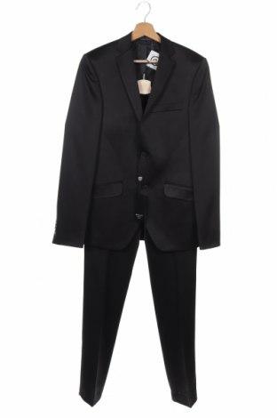 Ανδρικό κοστούμι Berto Lucci, Μέγεθος S, Χρώμα Μαύρο, Πολυεστέρας, Τιμή 14,18€
