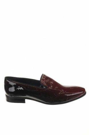 Мъжки обувки Boohoo, Размер 45, Цвят Червен, Еко кожа, Цена 13,00лв.