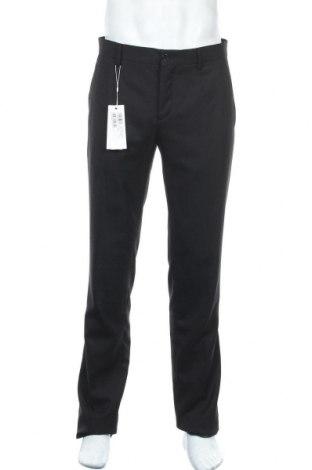 Ανδρικό παντελόνι Bikkembergs, Μέγεθος L, Χρώμα Μαύρο, 65% πολυεστέρας, 45% μαλλί, Τιμή 17,88€