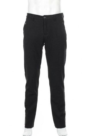 Ανδρικό παντελόνι Bikkembergs, Μέγεθος M, Χρώμα Μαύρο, 64% πολυεστέρας, 34% βισκόζη, 2% ελαστάνη, Τιμή 12,73€