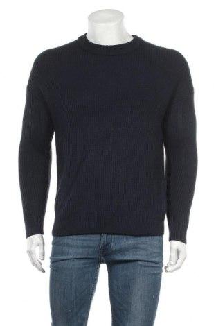 Ανδρικό πουλόβερ Reserved, Μέγεθος S, Χρώμα Μπλέ, 50% βαμβάκι, 50%ακρυλικό, Τιμή 9,65€