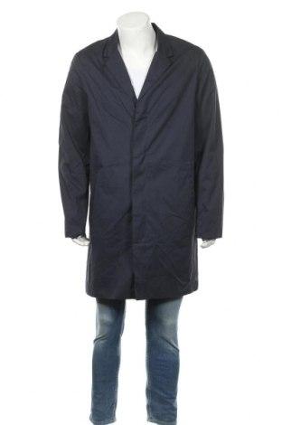Ανδρικά παλτό Top Secret, Μέγεθος XL, Χρώμα Μπλέ, 77% πολυεστέρας, 16% βαμβάκι, 7% πολυαμίδη, Τιμή 24,74€