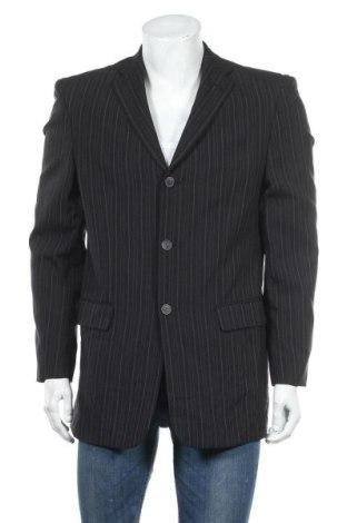 Мъжко сако Angelo Litrico, Размер M, Цвят Черен, 97% полиестер, 3% вискоза, Цена 3,00лв.