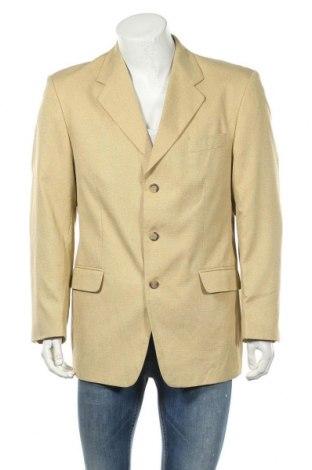 Ανδρικό σακάκι Berto Lucci, Μέγεθος L, Χρώμα Κίτρινο, Τιμή 8,95€