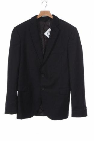 Мъжко сако Cinque, Размер S, Цвят Черен, 100% вълна, Цена 24,98лв.