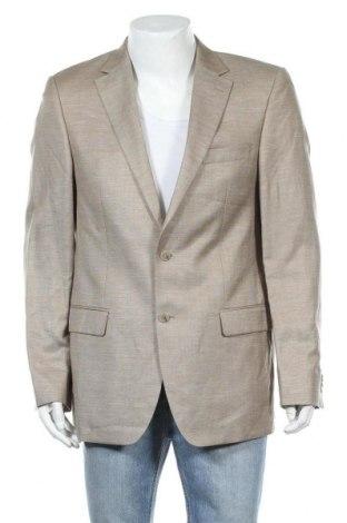 Мъжко сако Daniel Hechter, Размер L, Цвят Бежов, 90% вълна, 10% коприна, Цена 33,08лв.